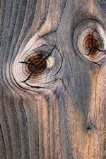 Preview iPhone wallpaper Wood texture