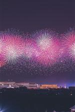 70th Birthday of China, Beautiful fireworks, Beijing, China