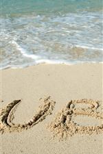 Beach, Cuba, foam, sea