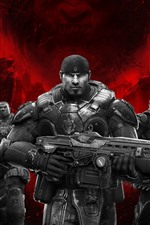 Preview iPhone wallpaper Gears of War: Ultimate Edition