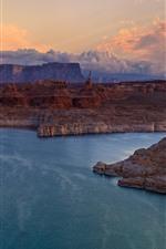 Preview iPhone wallpaper Glen Canyon, Arizona, lake Powell, USA