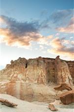 Preview iPhone wallpaper Rocks, stones, desert, nature