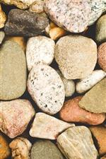 Some stones, different