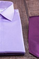 T-shirt, tie
