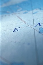 Preview iPhone wallpaper Map, ocean