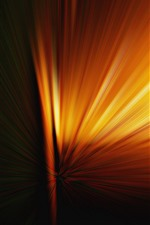 Preview iPhone wallpaper Orange light rays, abstract picture