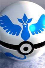 Preview iPhone wallpaper Pokemon, ball