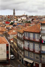 Preview iPhone wallpaper Portugal, Porto, city, houses