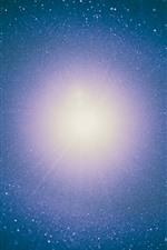 Estrelas luz, estrelado, espaço