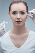 Surgeries aesthetic, doctors, girl