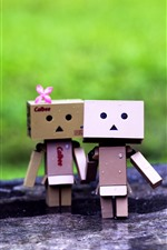 Danboard, girl and boy