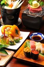 iPhone обои Вкусная еда, кухня, японские сорта