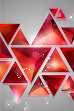 Preview iPhone wallpaper Geometric shapes, abstract