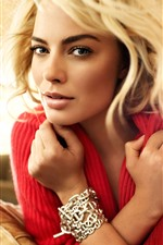 Preview iPhone wallpaper Margot Robbie 08