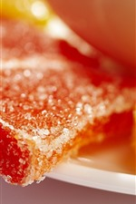 Preview iPhone wallpaper Marmalade sugar, orange candy