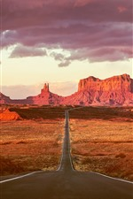 Monument Valley, Route 163, USA