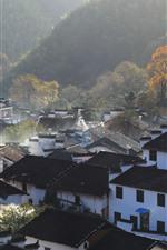 Preview iPhone wallpaper Shicheng, Ganzhou, Jiangxi, beautiful village