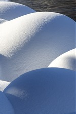 Thick snow, Kanas, Xinjiang, China