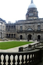Preview iPhone wallpaper University of Edinburgh, old college, UK