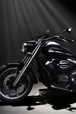 Preview iPhone wallpaper Yamaha XVS950A Midnight Star motorcycle