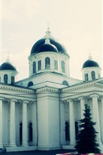 Preview iPhone wallpaper Arzamas, church, Russia