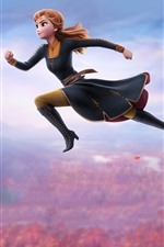 Preview iPhone wallpaper Brave Anna, Frozen 2