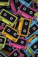 iPhone обои Красочные ленты