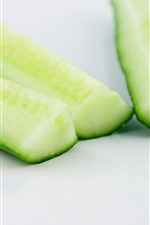 Preview iPhone wallpaper Cutted cucumber
