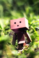 Preview iPhone wallpaper Danbo, bushes