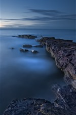 Sea, coast, rocks