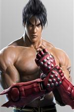 Preview iPhone wallpaper Tekken, man, gloves