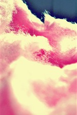 Preview iPhone wallpaper Pink cotton candy