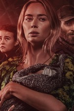 Preview iPhone wallpaper Emily Blunt, A Quiet Place 2