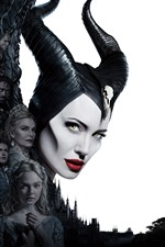 Preview iPhone wallpaper Maleficent: Mistress of Evil, 2019 movie