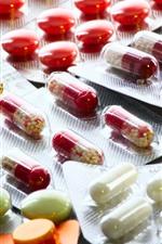 Medicines, pills, capsule
