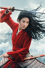 Preview iPhone wallpaper Mulan 2020 movie