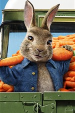 Preview iPhone wallpaper Peter Rabbit 2