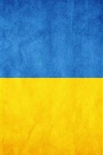 iPhone壁紙のプレビュー ウクライナの旗
