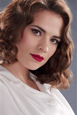 Preview iPhone wallpaper Hayley Atwell 05