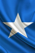 Preview iPhone wallpaper Somalia flag