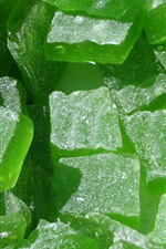 Preview iPhone wallpaper Green marmalade candy