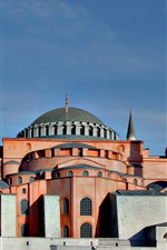 Preview iPhone wallpaper Istanbul, Turkey, mosque