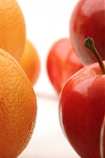 Oranges and apples, fruits