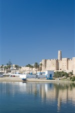 Tunisia, river, city