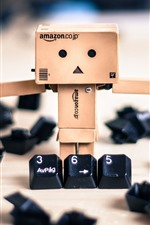 Danboard and keyboard keys
