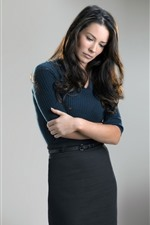 Preview iPhone wallpaper Evangeline Lilly 03