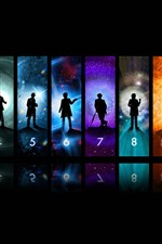 Preview iPhone wallpaper Doctor Who, TV series, creative picture