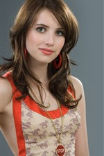 Preview iPhone wallpaper Emma Roberts 11