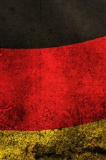 Preview iPhone wallpaper Germany flag