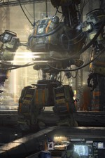 Preview iPhone wallpaper Titanfall, robot, game picture